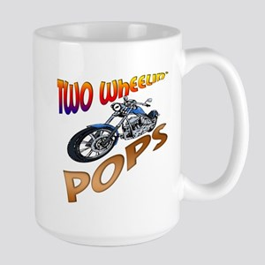 TWO WHEELIN' POPS Large Mug