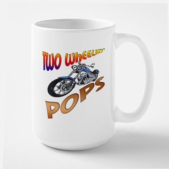 TWO WHEELIN' POPS Large Mug