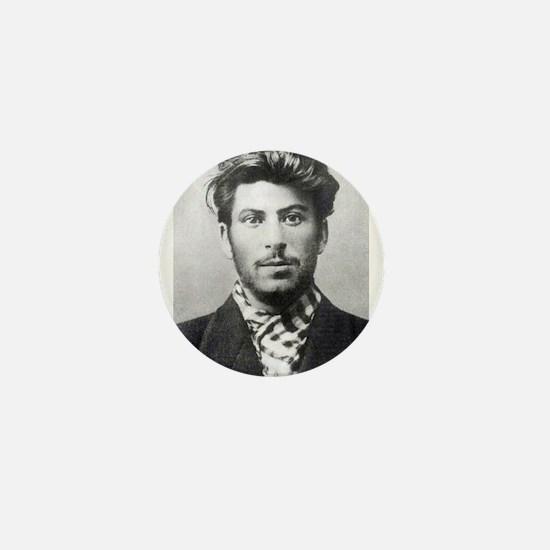 Young Stalin - Soviet Communism USSR C Mini Button