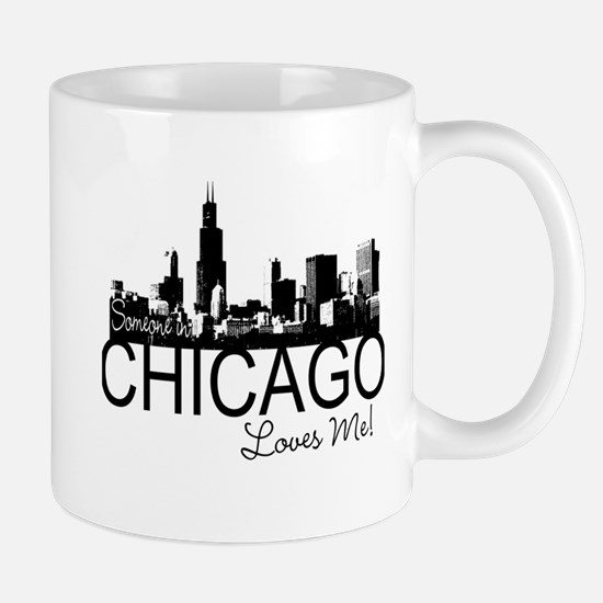 Someone in Chicago Loves Me S Mug
