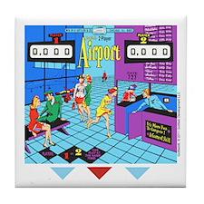 Gottlieb® Airport Pinball Tile Coaster