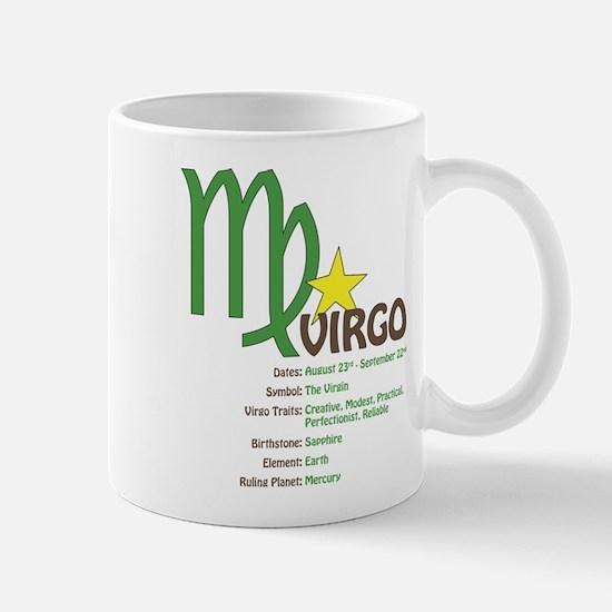 Virgo Traits Mug