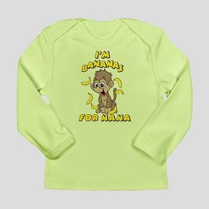 I'm Bananas For Nana Long Sleeve Infant T-Shirt