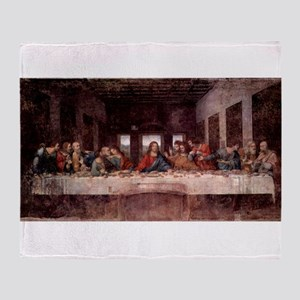da Vinci Last Supper Throw Blanket