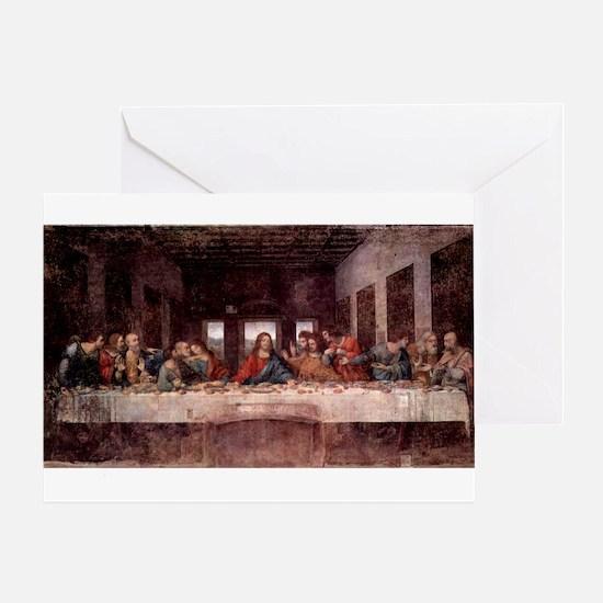 da Vinci Last Supper Greeting Card