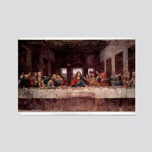 da Vinci Last Supper Rectangle Magnet