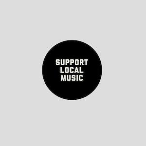 Support Local Music Mini Button