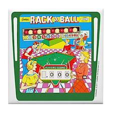 Gottlieb® Rack-A-Ball Pinball Tile Coaster