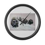 Animal Large Wall Clock