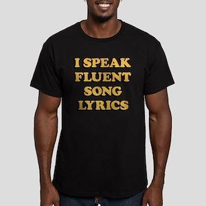 I Speak Fluent Song Ly Men's Fitted T-Shirt (dark)