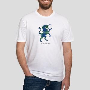 Unicorn-MacIntyre hunting Fitted T-Shirt