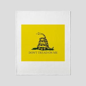 Gadsden Throw Blanket