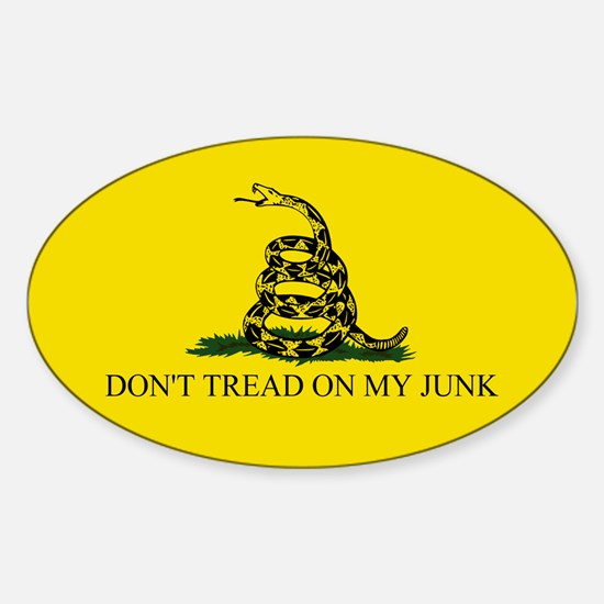 Gadsden Sticker (Oval)