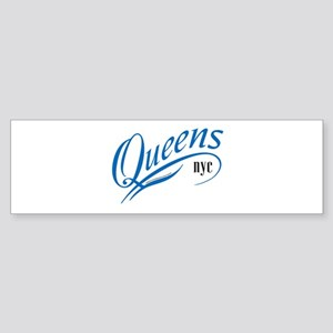 Queens, NY Sticker (Bumper)