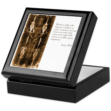 Shroud of Turin Keepsake Box