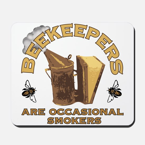 Beekeepers are occasional smo Mousepad