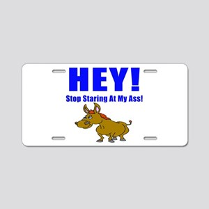 Funny Ass Aluminum License Plate