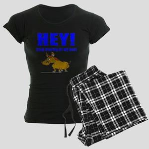 Funny Ass Women's Dark Pajamas