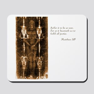 Shroud of Turin Mousepad