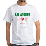 Los Angeles White T-Shirt