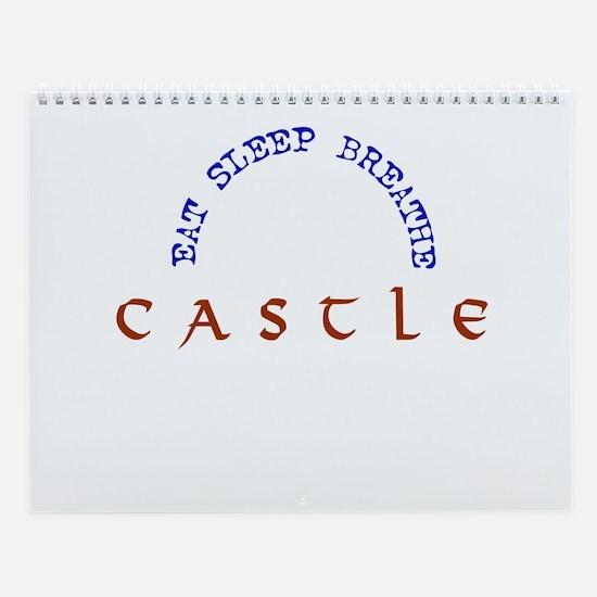 Castle 12 month Wall Calendar