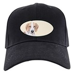 American Foxhound Black Cap with Patch