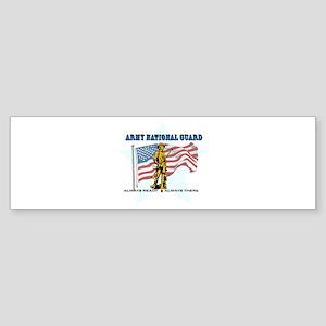 Army National Guard Sticker (Bumper)