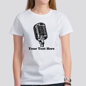 Microphone Personali Women's Classic White T-Shirt