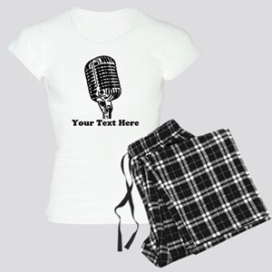Microphone Personalized Women's Light Pajamas
