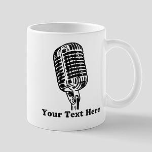 Microphone Personalized 11 oz Ceramic Mug
