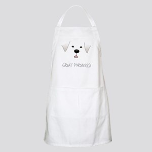 Great Pyrenees Face Apron
