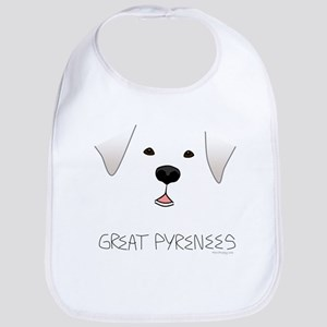 Great Pyrenees Face Bib