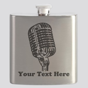 Microphone Personalized Flask