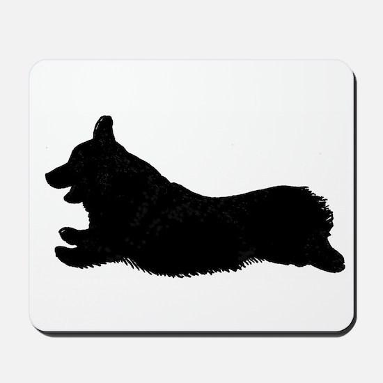 Original Logo Silhouette - Mousepad