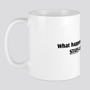 """What happens at Run Club"" Mug"