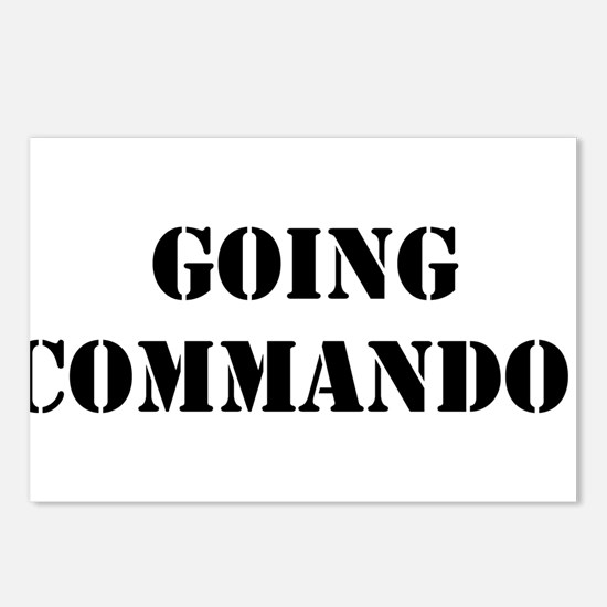 Going Commando Postcards (Package of 8)