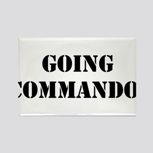 Going Commando Rectangle Magnet