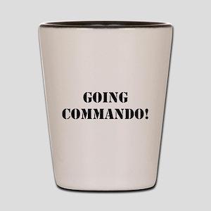 Going Commando Shot Glass