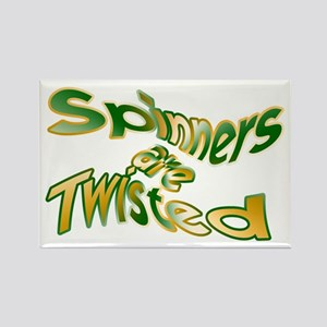 Spinners are Twisted Rectangle Magnet