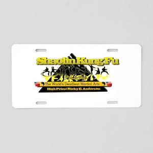 Pyramid Aluminum License Plate