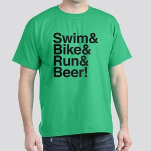 Triathletes for Beer! Dark T-Shirt