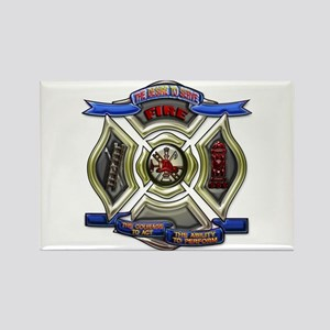 Fire Desire, Courage, Ability Rectangle Magnet