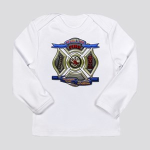 Fire Desire, Courage, Ability Long Sleeve Infant T