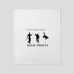 High Priest Throw Blanket