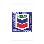 Hemp Fuels Sticker (Rectangle 10 pk)