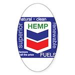 Hemp Fuels Sticker (Oval)