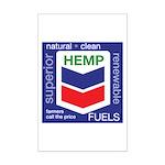Hemp Fuels Mini Poster Print