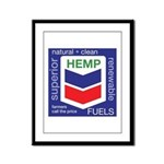 Hemp Fuels Framed Panel Print