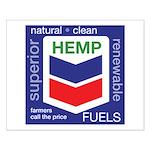 Hemp Fuels Small Poster