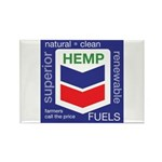 Hemp Fuels Rectangle Magnet (100 pack)